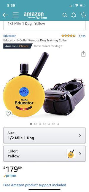 Educator E-Collar for Sale in Yorktown, VA