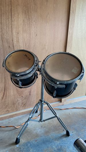 Drum Toms 8 & 10 with Stand for Sale in Coral Springs, FL