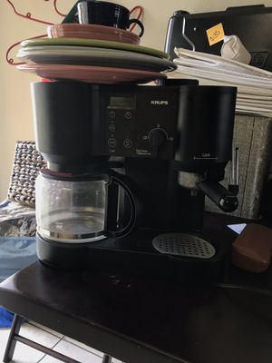 Krups coffee and espresso maker for Sale in Long Beach, CA