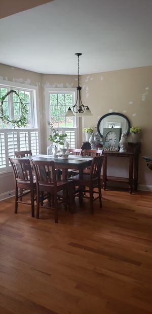 Ashley's Dining Room table with Server for Sale in Byron, GA