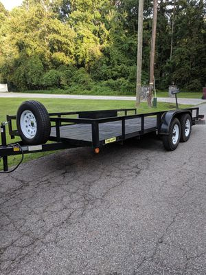7x18 trailer hauler 2017 for Sale in Chesapeake, VA