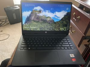 "Hp 2020 version laptop ""14 inch notebook "" thin n lightweight— only 3 mos old for Sale in Port St. Lucie, FL"