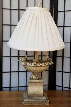 Unique Accent Table Lamp with Bird Motif for Sale in Lakewood,  CO