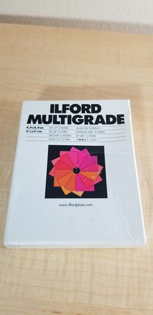 Ilford multigrade - set of 12 filters for Sale in Spring Hill, FL