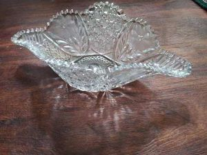 Antique American Brilliance Glass Bowl for Sale in Irwin, PA