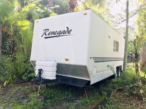 2001 Renegade Toy Hauler, Tiny House, RV, Camper. Everything works perfectly! No Leaks! Brand New Tires! Very clean. A/C is ice cold. Tows very easil for Sale in Jupiter, FL