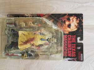 "McFarlane Toys Leatherface form The Texas Chainsaw Massacre. Movie Maniacs Action Figure (Unopened) 7 inch. Condition is ""New"" for Sale in UPR MARLBORO, MD"
