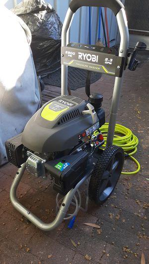 2900 psi ryobi pressure washer for Sale in Redwood City, CA