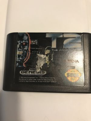 T2 the arcade game sega genesis for Sale in Payson, AZ