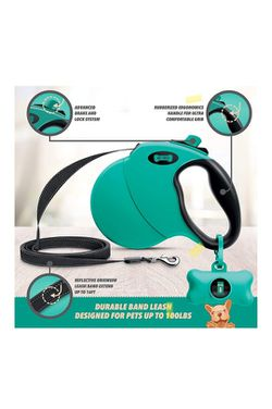 360° Tangle-Free 16 ft Retractable Dog Leash + Free Waste Bag Dispenser for Sale in San Jose,  CA