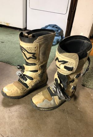 Dirt bike boots for Sale in Cypress, CA