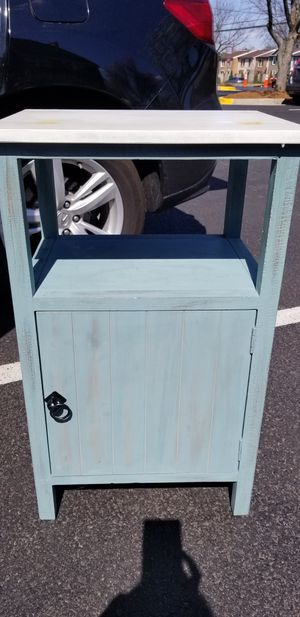 blue green cabinet for Sale in West McLean, VA