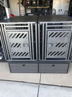 ACE Dog Gear Mercedes Sprinter Van Custom Crates and Drawers for Sale in Murrieta, CA