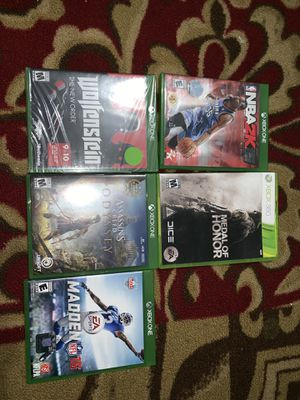 Xbox one games for Sale in Grape Creek, TX