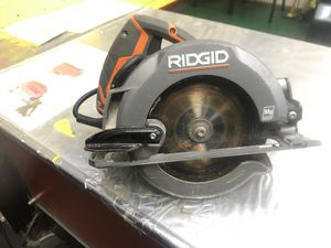 Ridgid circular saw for Sale in Washington, DC