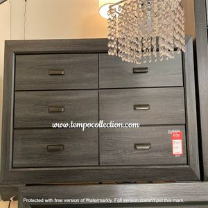 NEW IN THE BOX.*STYLISH* GREY DRESSER . SKU#TC1904GY-DRESSER for Sale in Fountain Valley, CA