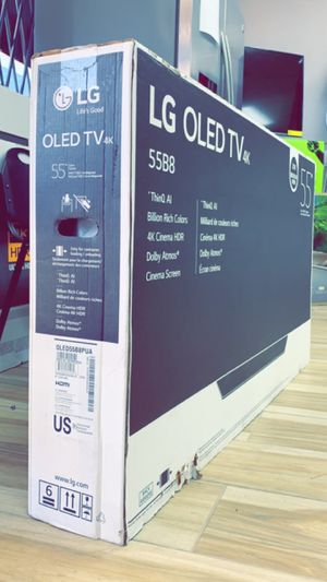 """LG 55"""" OLED 4K HDR Smart - B8 Series - 2160p - Smart - 4K UHD TV with HDR!! Brand New in Box! Retails for $1499 for Sale in Arlington, TX"""