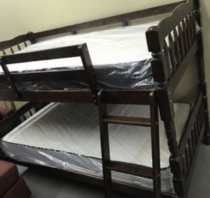 New bunk bed with mattress included for Sale in Fort Worth, TX