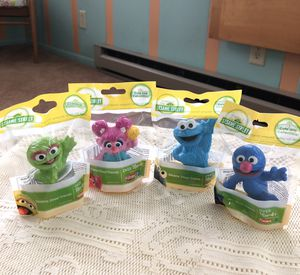 Used, Sesame Street Toy Figure Cake Toppers for Sale for sale  Harrisburg, PA