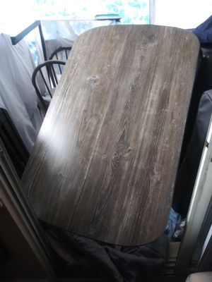 Kitchen table with 4 grey chairs for Sale in Nashville, TN