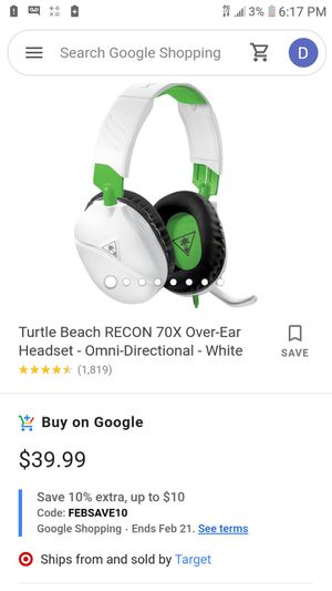 Xbox/Ps4 Headset for Sale in Whittier, CA