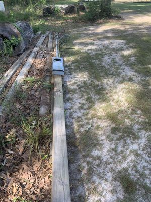 Temporary Electric pole and panel. MAKE OFFER! for Sale in Gonzales, LA