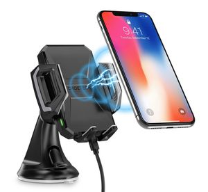 Wireless charger, CHOETECH Cell Phones Accessories Car Mount, Air Vent Phone Holder 10W Charge for Samsung Galaxy S8, S7/S7 Edge, Note 8 5 and 5W Sta for Sale in North Las Vegas, NV