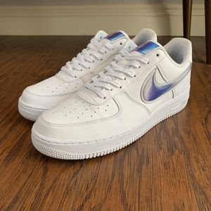 Nike Air Force 1 oversized swoosh 10.5 for Sale in Ontario, CA
