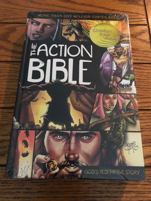 Bible action heroes brand new sealed firm $15 for Sale in La Habra Heights, CA