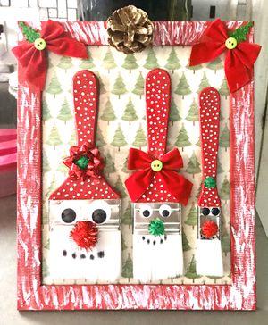 Paintbrush Santas for Sale in Barboursville, WV