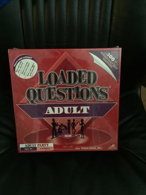 Loaded questions adult - board game for Sale in Oviedo, FL