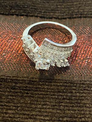 18K Gold plated Engagement Ring— Code GU30 for Sale in Houston, TX