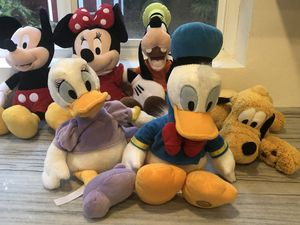 Disney Plush Animals for Sale in Duvall, WA