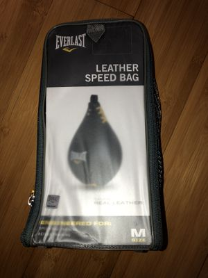 Boxing speed bag for Sale in Shadow Hills, CA