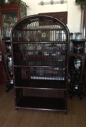 Solid rattan shelve offering for 45.00 $$ for Sale in Glendale, AZ