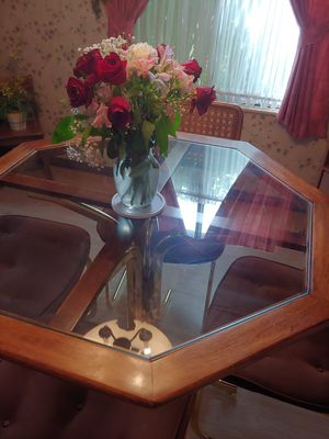 Dining table glass for Sale in Swansea, IL