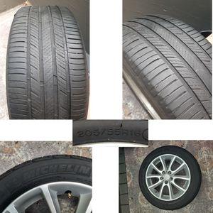 4 Tires Michelin 205 55R16 $200obo for Sale in Tacoma, WA