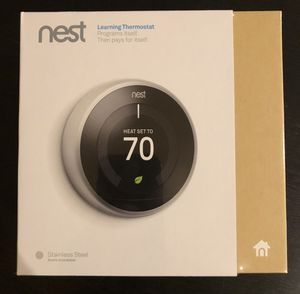 NEST 3rd Generation Learning Thermostat for Sale in Los Angeles, CA