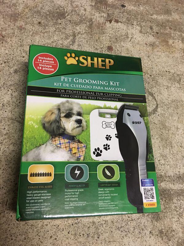 Brand new full grooming kit