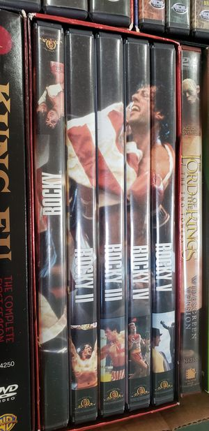 The Rocky Anthology (DVD 5-Disc Set) for Sale in Chicago, IL