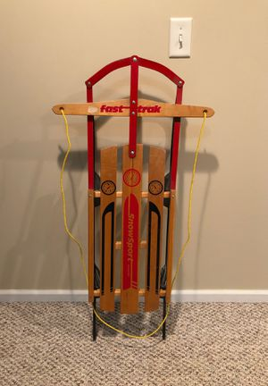Fast trak snow sport sled for Sale in IL, US