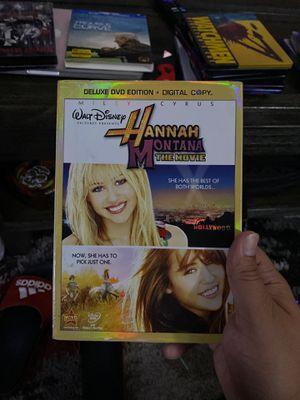Hannah Montana the movie dvd for Sale in Bellflower, CA