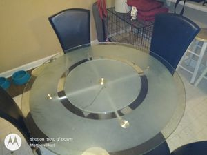 Beautiful kitchen table make offer very solid for Sale in Greensboro, NC