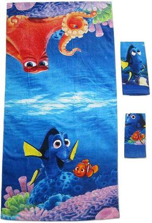 Disney Finding Nemo Dory 3 piece 100% Cotton Children Bath towel Set for Sale in Compton, CA