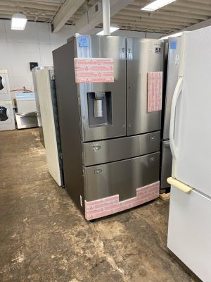 WE DELIVER! Samsung Refrigerator Fridge With Warranty Works Perfect #756 for Sale in Willingboro, NJ