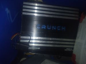 4 channel crunch amp competition for Sale in Fort Smith, AR