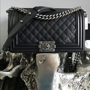 Chanel caviar limted edition bag for Sale in Queens, NY