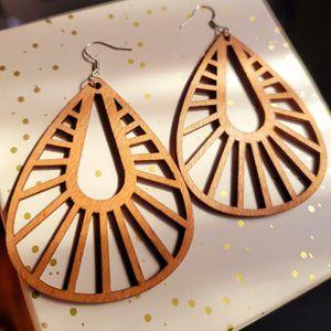 Sterling Silver Wooden Earrings for Sale in Fort Lauderdale, FL