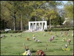 4 Cemetery Plots at Greenville Memorial Gardens for Sale in Williamston, SC