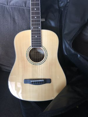 Like new Mitchell guitar with gig bag for Sale in La Mirada, CA